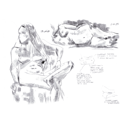 Auckland CBD Life Drawing 2021-02-01