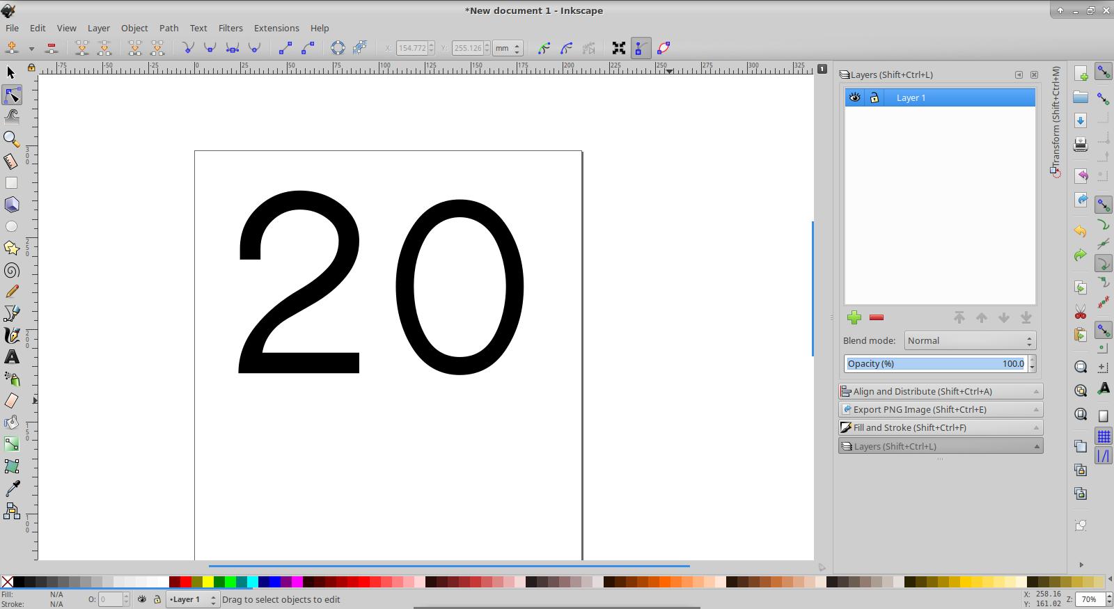 Creating a logo in Inkscape - process | Bruno P  Kinoshita